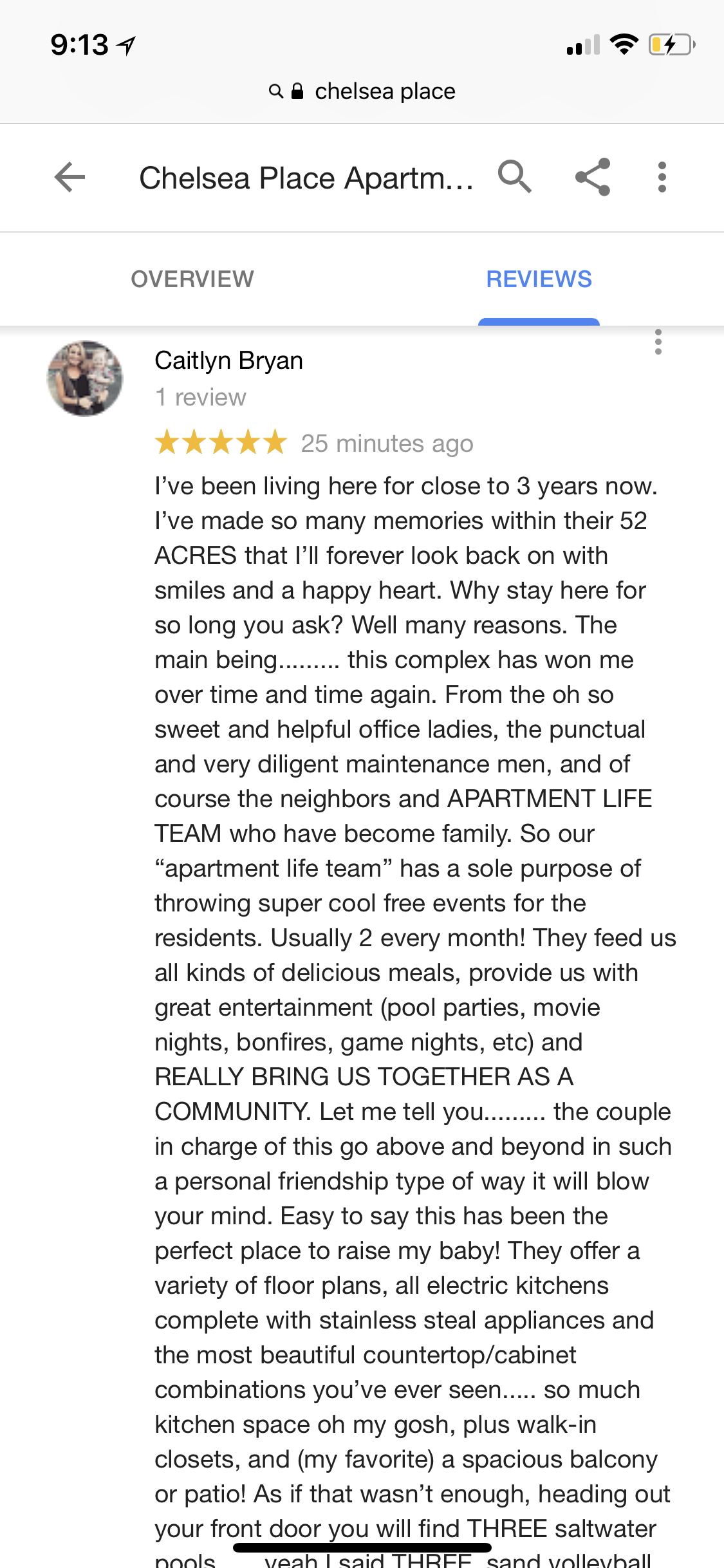 Actual Reviews From Apartment Life Communities